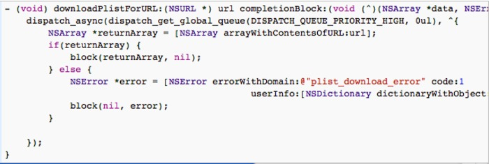 Grand Central Dispatch And Writing Methods That Accept Blocks As Arguments | iPhone and iPad development | Scoop.it