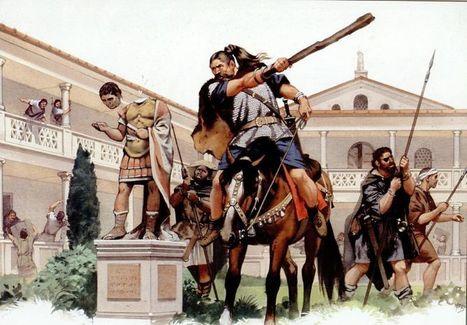 DE COMO LOS BÁRBAROS COLAPSARON EL IMPERIO ROMANO DE OCCIDENTE EN EL S. V. (ARQUEOLOGÍA CLÁSICA II).   Cultura Clásica   Scoop.it
