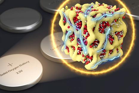 New lithium-oxygen battery greatly improves energy efficiency, longevity | Amazing Science | Scoop.it