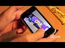 Chocolate bar wrapper Augmented Reality game by Blippar | Augmented Reality News and Trends | Scoop.it