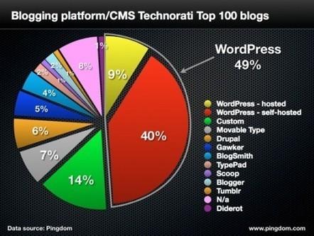 Wordpress toujours en tête ! | Korben | Web dev and more | Scoop.it