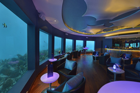 Underwater Bar in the Maldives | Islands.com | All about water, the oceans, environmental issues | Scoop.it