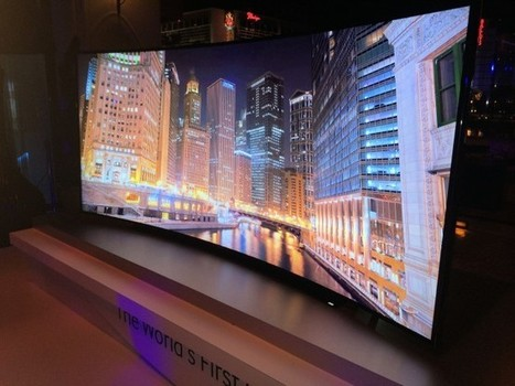 Samsung announces 105-Inch Curved Ultra HD TV | News | Scoop.it