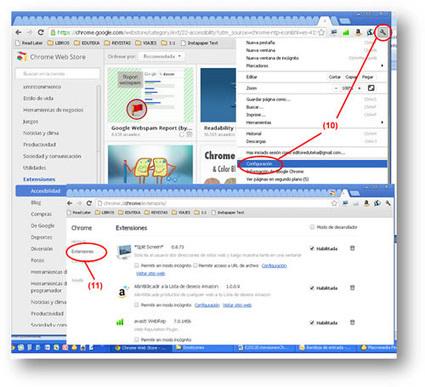 Aplicaciones y extensiones de Google Chrome para uso docente | e-learning y aprendizaje para toda la vida | Scoop.it