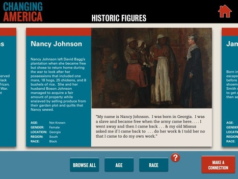 Changing America on iPads | Using Primary Sources in the Social Studies Classroom | Scoop.it