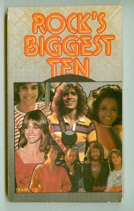 Vintage 1979 Rock's Biggest 10 Pop Star Biographies Retro Scholastic Paperback | Kitsch | Scoop.it