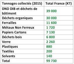 La biomasse représente 37% du tonnage des produits recyclés en France | Filière bois - général | Scoop.it