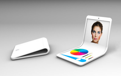 A Smartphone with a Flexible Display Remains a Concept... for Now - Core77 | Smart Phone & Tablets | Scoop.it