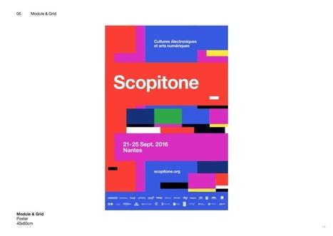 Hey Studio revisite les fondamentaux de l'image numérique pour Scopitone 2016 | Graphic design & Visual communication | Scoop.it
