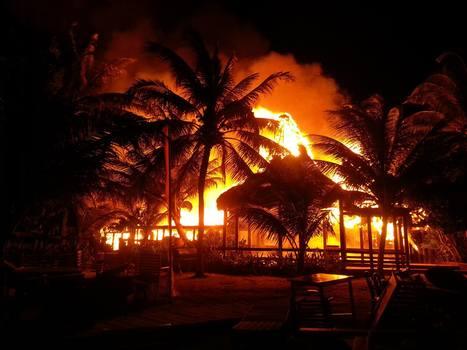 Discover Belize Travel Magazine: Massive fire engulfs Ramon's Village Resort | Discover Belize Travel Magazine | Retiring in Belize | Scoop.it