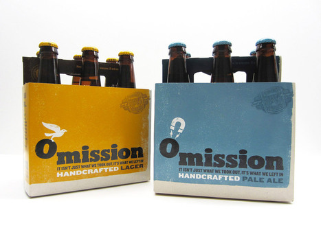 Omission Designed by Hornall Anderson | Packaging Design Ideas | Scoop.it