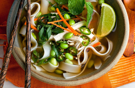 Vegan Phô With Carrots — Recipes for Health | My Vegan recipes | Scoop.it