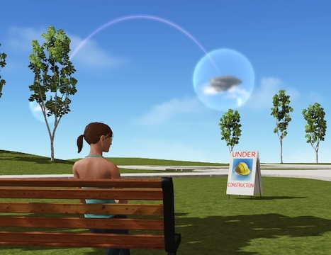 Art in virtual world Cloud Party Contest - Win ... | Virtual Worlds | Scoop.it