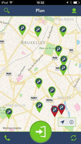 BePark, pour ouvrir les barrières de parking avec son smartphone | Parkings à Paris | Scoop.it