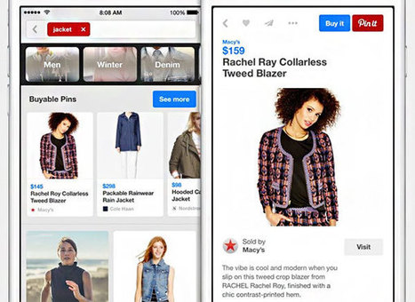 Buyable Pins and the Future of Ecommerce | Tecniche per la visibilità online | Scoop.it