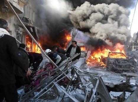 Oppositio: Tynnyripommit tappoivat 85 Syyrian Aleppossa   Syyria   Scoop.it
