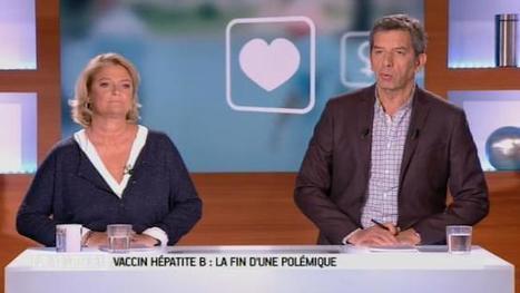 Vaccin contre l'hépatite B : le carton rouge de Michel et Marina contre les marchands de doute | Information en santé | Scoop.it