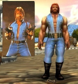 Chuck Norris – Character in World Of Warcraft | Facts Village | Funny Pics Online | Scoop.it