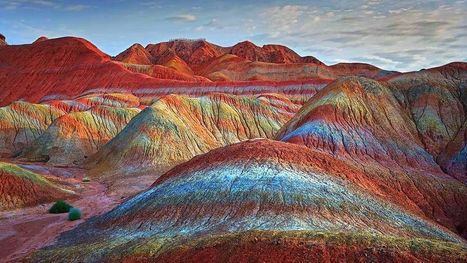 China's Unbelievably Colorful Mountains | Year 8 Geography - Landforms and Landscapes | Scoop.it