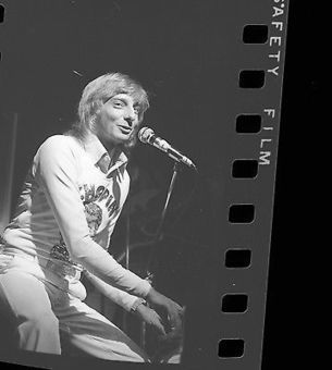 BARRY MANILOW 35mm Camera Original Negative IN CONCERT 03-18-1974 #006 @barrymanilow | Keith Russell Collections | Scoop.it