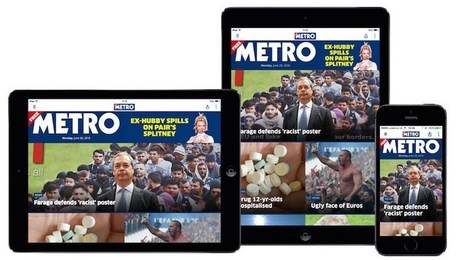 Why Metro, the UK's free paper, is betting on apps - Digiday | Mobile - Publishing, Marketing, Advertising | Scoop.it