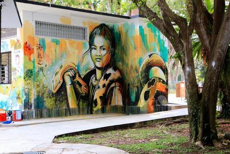 Alice New Street Art Pieces - Singapore, Indonesia & Vietnam   Art   Scoop.it