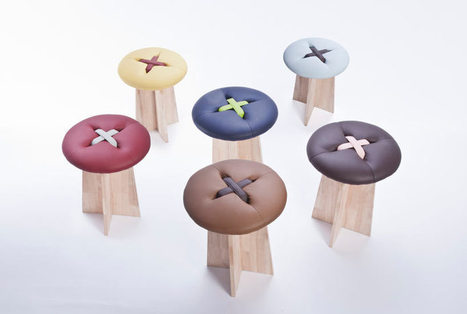Stools that are cute as a button | D_sign | Scoop.it