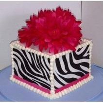 Zebra Sugar Sheet Birthday Cakes | Easy Delicious Recipes | Scoop.it