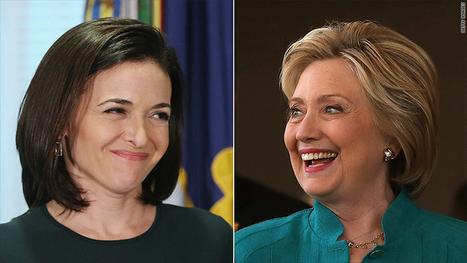 Hillary Clinton endorsement: Sheryl Sandberg and 55 other execs | CLOVER ENTERPRISES ''THE ENTERTAINMENT OF CHOICE'' | Scoop.it
