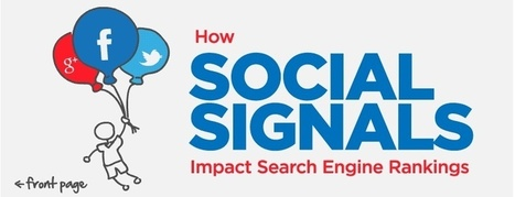 How Social Media Signals Impact Search Engine Rankings - SEO Ireland | Social Media Marketing GNPR | Scoop.it