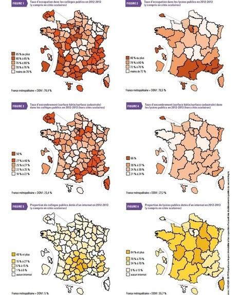 Rapport : Géographie de l'École 2014 (Éducation nationale) | Géographie de l'espace scolaire, Géographie de l'école | Scoop.it