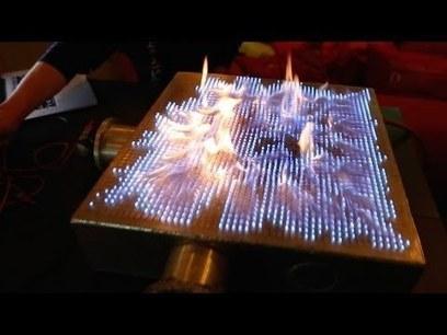 Graphisme & interactivité blog de design par Geoffrey Dorne » Une interface musicale enflammée !   Médiation multimédia   Scoop.it