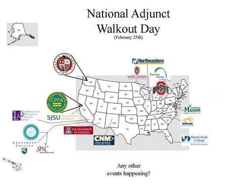 #NAWD map by Adjun'ct N'oise aka @Vireeon | A is for Adjunct | Scoop.it