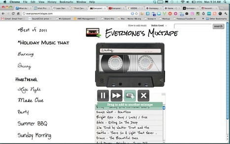 Curate Your Own Music Compilation: Everyone's Mixtape | Tech Bucket List | Scoop.it