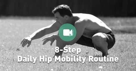 8-Step Daily Routine for Hip Mobility | Fitness and nutrition | Scoop.it