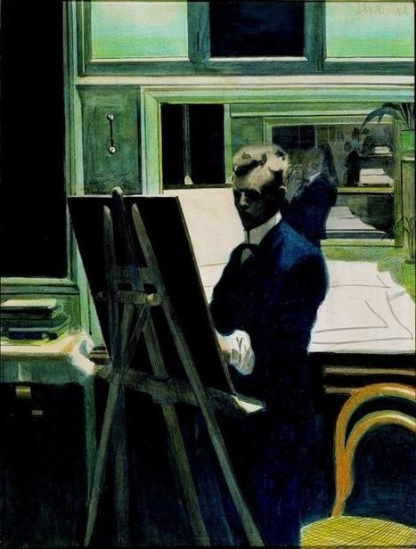 art-is-art-is-art: Self-Portrait, Leon... | abstract art | Scoop.it