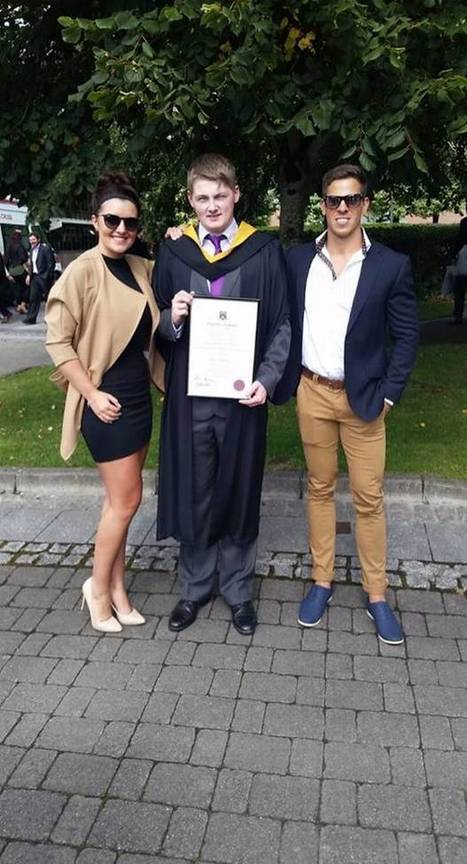 Brian Moroney, Irish student (22) graduates from university, despite doctors telling him he'd never read or write | EDUCuestionadores - Historias del día | Scoop.it