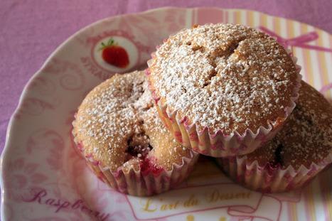 Meno male son golosa: Muffin alle fragole | Ricette di cucina interessanti | Scoop.it