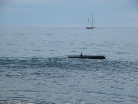 Did a Solar-Powered Autonomous Boat Just Cross the Pacific Ocean? | Make: | Human and Technology | Scoop.it