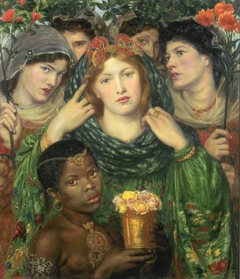 Arte XIX: La Amada o La Novia, de Rossetti. Pintura y joyería   El Arte del siglo XIX   Scoop.it