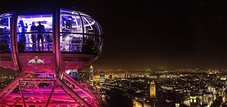 Red Bull transforme les 30 capsules de la London Eye en 30 boîtes de nuit | the world of communication | Scoop.it