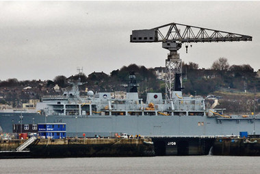 Claims leaving HMS Albion tied up in Plymouth costs £14million a year - This is Plymouth | The Navy Campaign Daily | Scoop.it