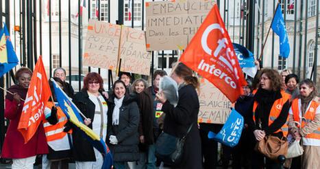 NANTES: Mouvement de grève dans les EHPAD nantais | NPA 44 - revue de presse | Scoop.it