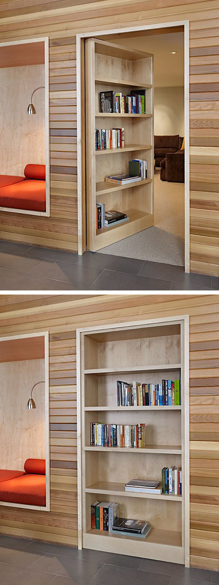 Don't Tell Anyone About This Secret Door | Inspired By Design | Scoop.it