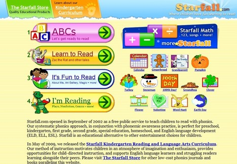 Starfall's Learn to Read with phonics | Panda Pride- Pre-K at Lexington Park | Scoop.it
