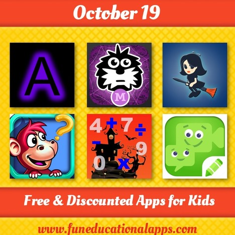 Daily Best Free and Discounted Apps for kids and Education - October 19 - Fun Educational Apps for Kids   Daily Free Kids Apps   Scoop.it