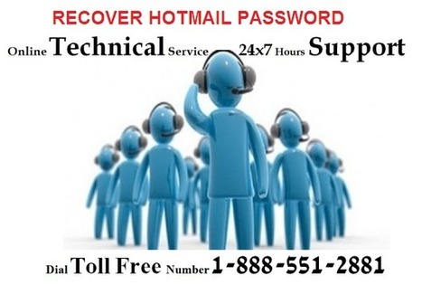 Find hotmail or outlook customer support service fast! | Hotmail Password Reset 1-888-551-2881 | Scoop.it