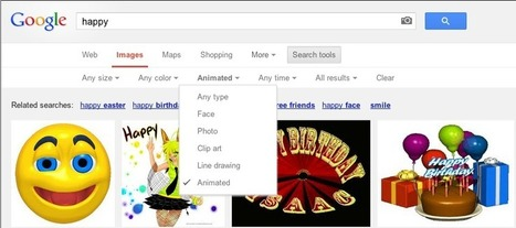 Google Images adds filters for animated GIFs | Teacher Tools and Tips | Scoop.it