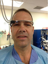 Google Glass gets used by a surgeon in the operating room for the first time | Advanced Telemedicine | Scoop.it