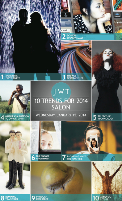 From mind-reading headbands to one-night stands, JWT's Trends Salon explores our trend forecast | JWT Intelligence | Futurewaves | Scoop.it